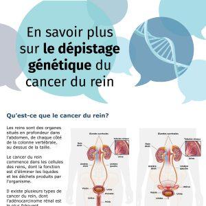 En savoir plus sur le dépistage génétique du cancer du rein