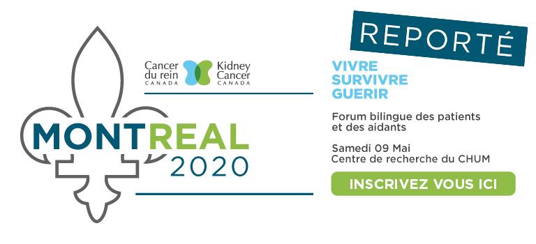 Le Forum des patients et des aidants de Cancer du rein Canada reporté en raison de la COVID-19