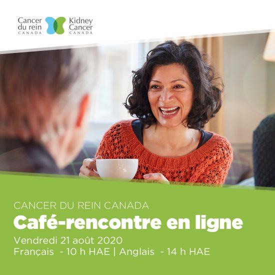 Cancer du rein Canada - Café-rencontre en ligne