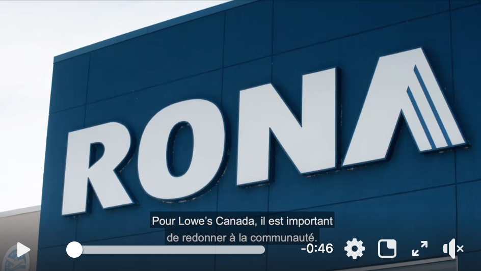 Lowe's Canada Heroes campaign