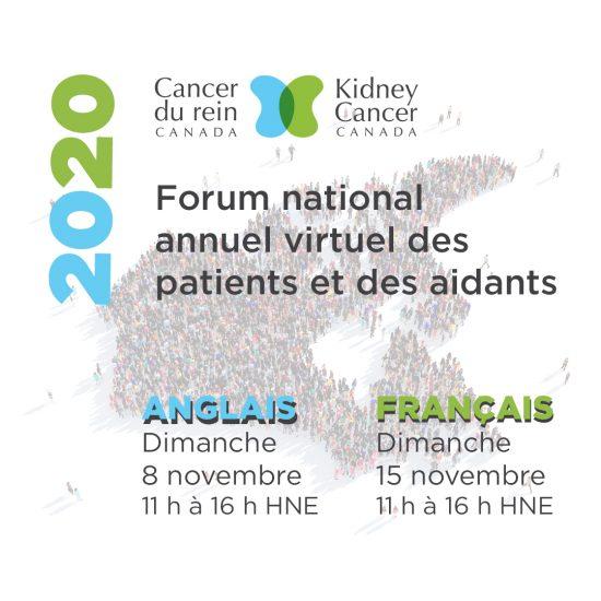 Forum national annuel des patients et des aidants de Cancer du rein Canada