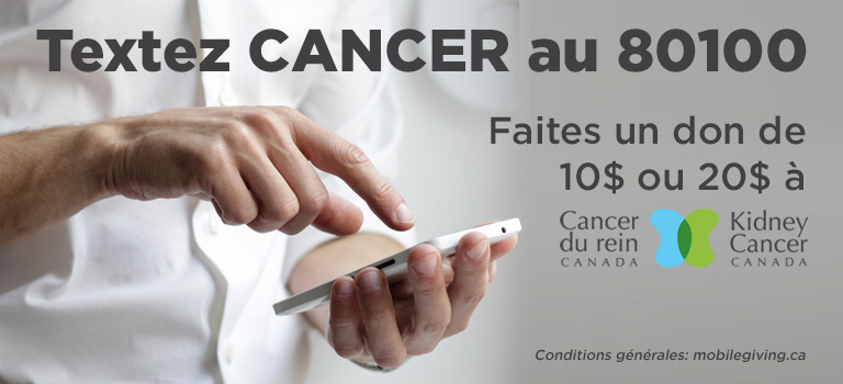 Cancer du rein Canada - Textez CANCER AU 80100