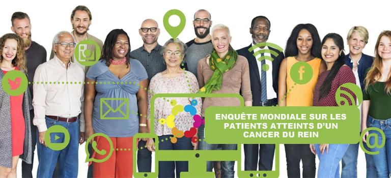 Enquête mondiale sur les patients atteints d'un cancer du rein 2020