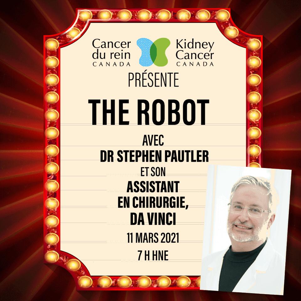 Webinaire sur la chirurgie assistée par robot